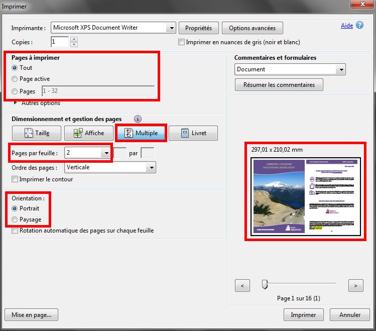 FAQ Impression PDF