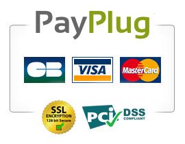 Paiement sécurisé par PayPlug