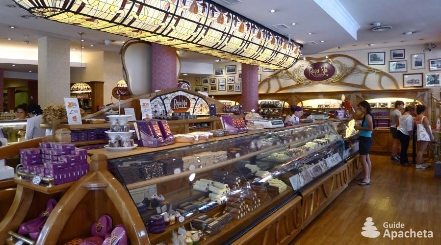 Chocolate factories of San Carlos de Bariloche