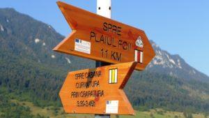 Balisage des sentiers en Roumanie