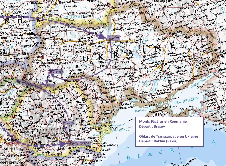 How to get to the Carpathians?
