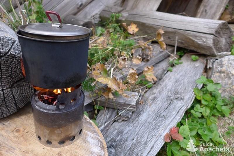 Réchaud à bois