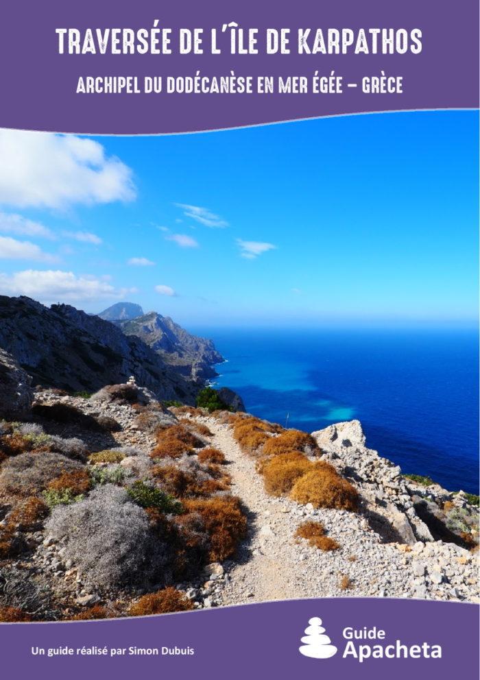 Traversée de l'île de Karpathos (Archipel du Dodécanèse en mer Égée - Grèce)